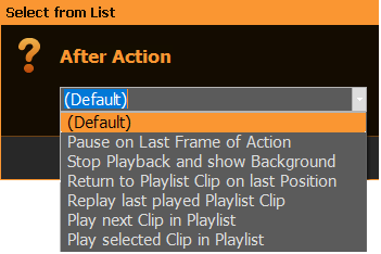 PLAYDECK Professional Video Playback Playout Software for Windows * Action Buttons for Instant Playback