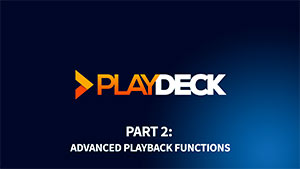Advanced Playback Functions